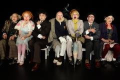 Clowns 2 1/2, Ensemble, Foto A. Köhring
