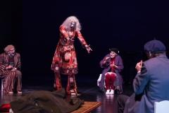 Clowns im Sturm, A. Bork, M. Flake, P. von der Beek,  Foto: Schmitz