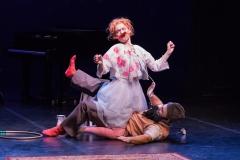 Clowns im Sturm, S. Thoma, S. Reuber,  Foto: Schmitz