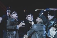 Clowns unter Tage, Ensemble, Foto F. Götzen