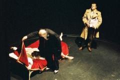 Kunst der Komödie, R. Seidl, R. Ciulli, S. Reuber, Foto K. Maron